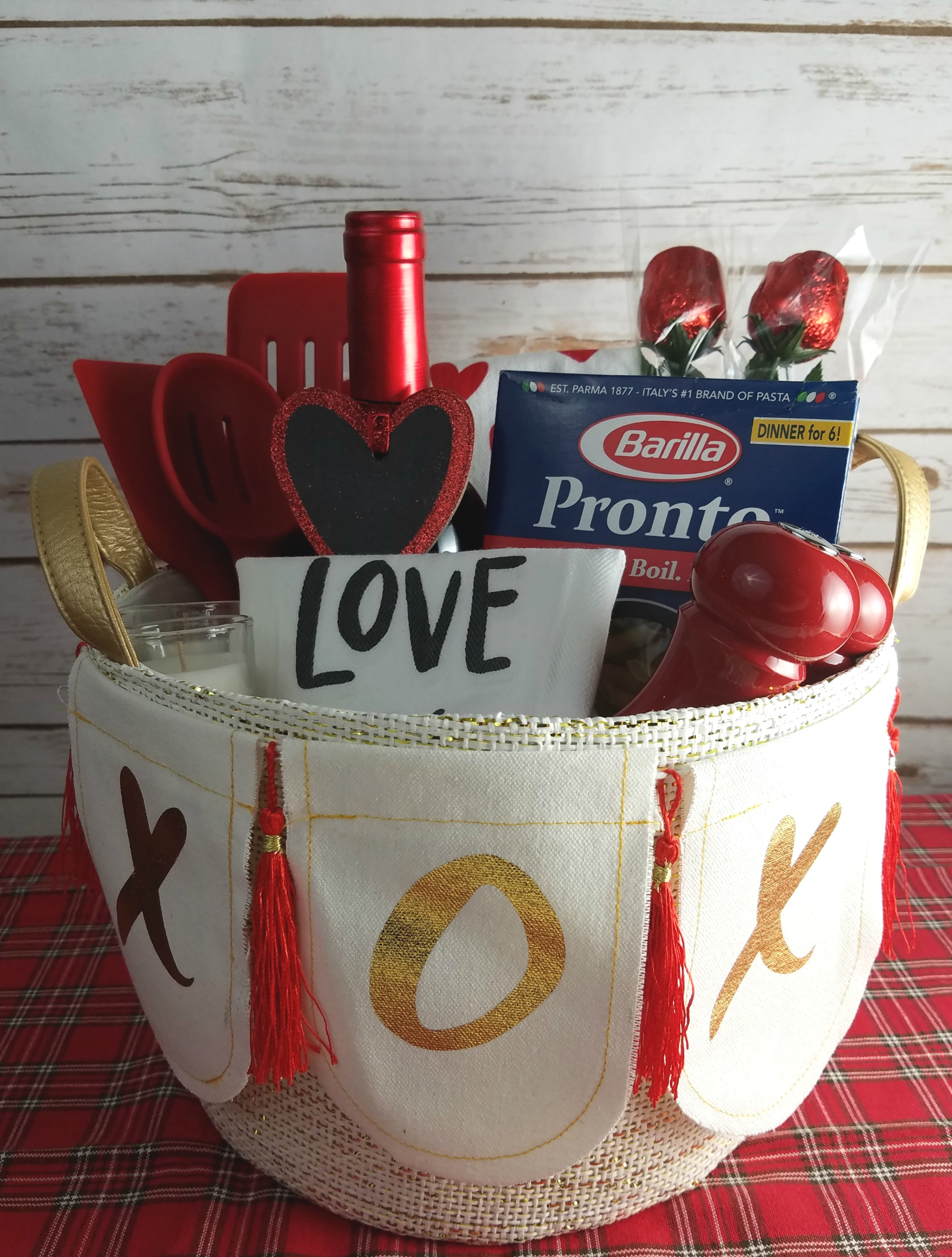 Dinner For Two Date Night Gift Basket Making Time For Mommy
