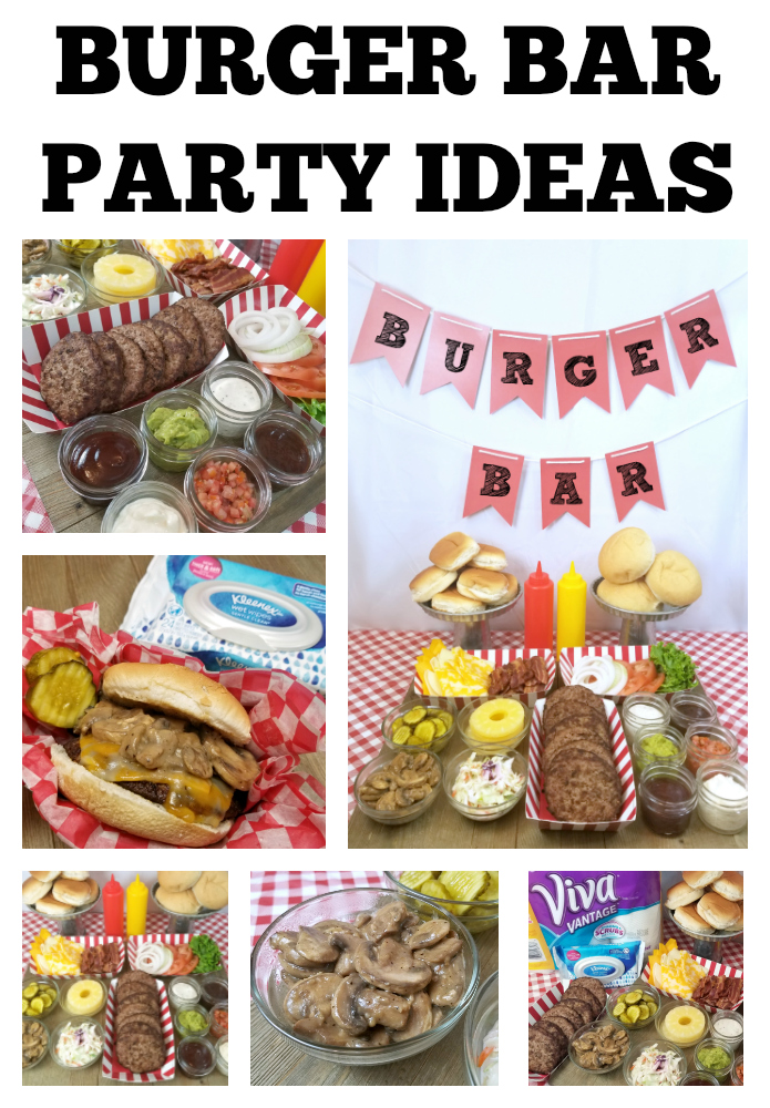 Burger Bar Party Ideas