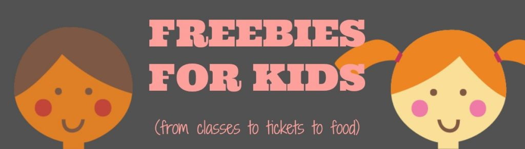 Freebies kids will love